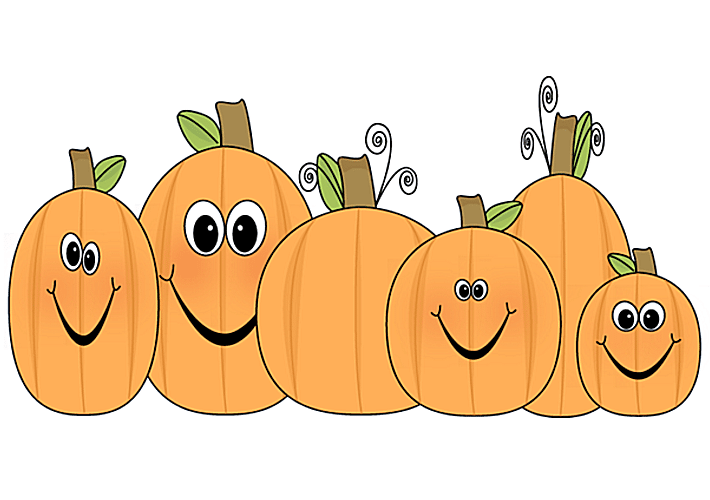 Carved pumpkin vine clipart.