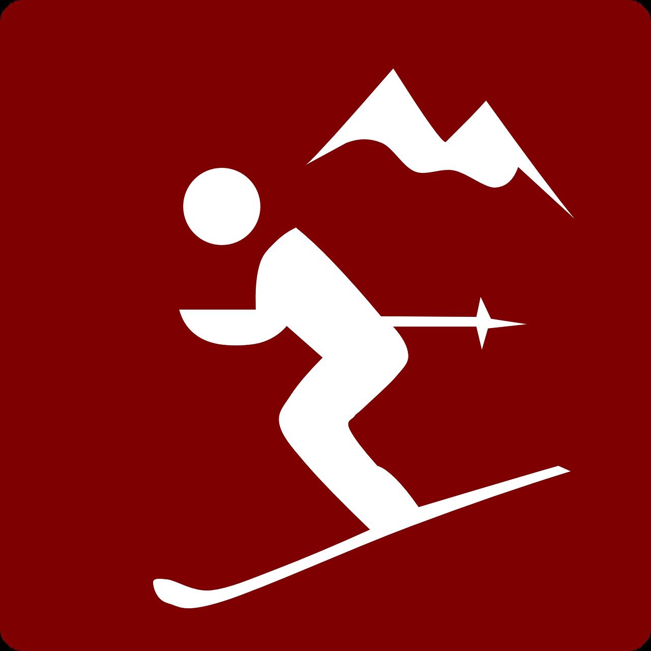Carving ski clipart 20...