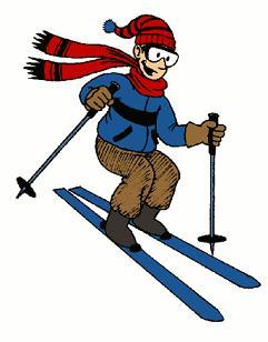 Free Ski Clipart.