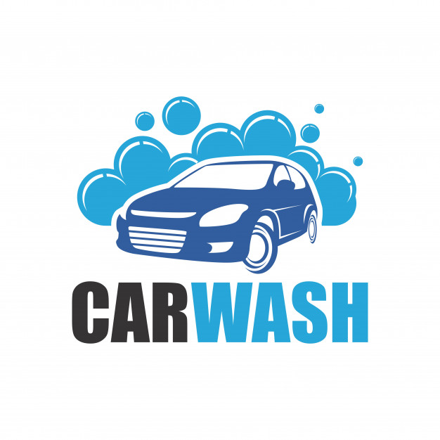 Car wash logo Vector.