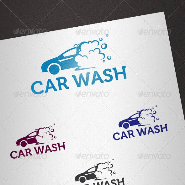 Carwash Logo Templates from GraphicRiver.
