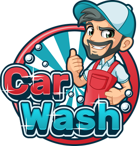 Car Wash Cartoon Logo Vector (.EPS) Free Download.