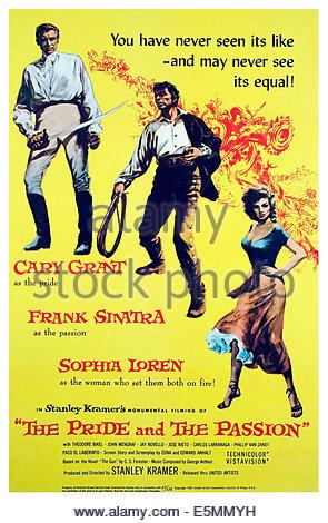 Cary Grant Sophia Loren & Frank Sinatra The Pride And The Passion.