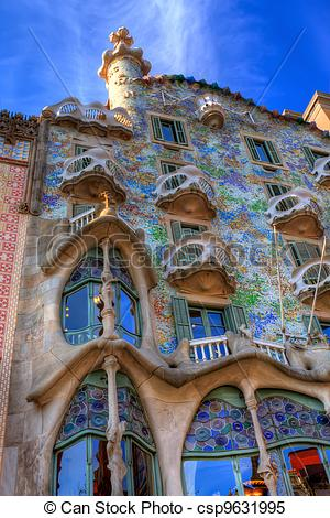 Stock Images of BARCELONA, SPAIN.
