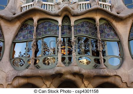 Pictures of Detail Casa Batllo.