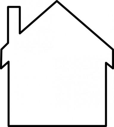 Simple House Clipart.