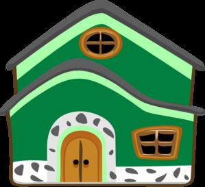 Casa Verde Green House Clip Art at Clker.com.