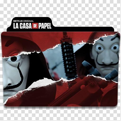 La Casa De Papel Money Heist Folder Icon, La Casa De Papel.
