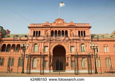 Stock Photo of Casa Rosada, Buenos Aires, Argentina k2486153.
