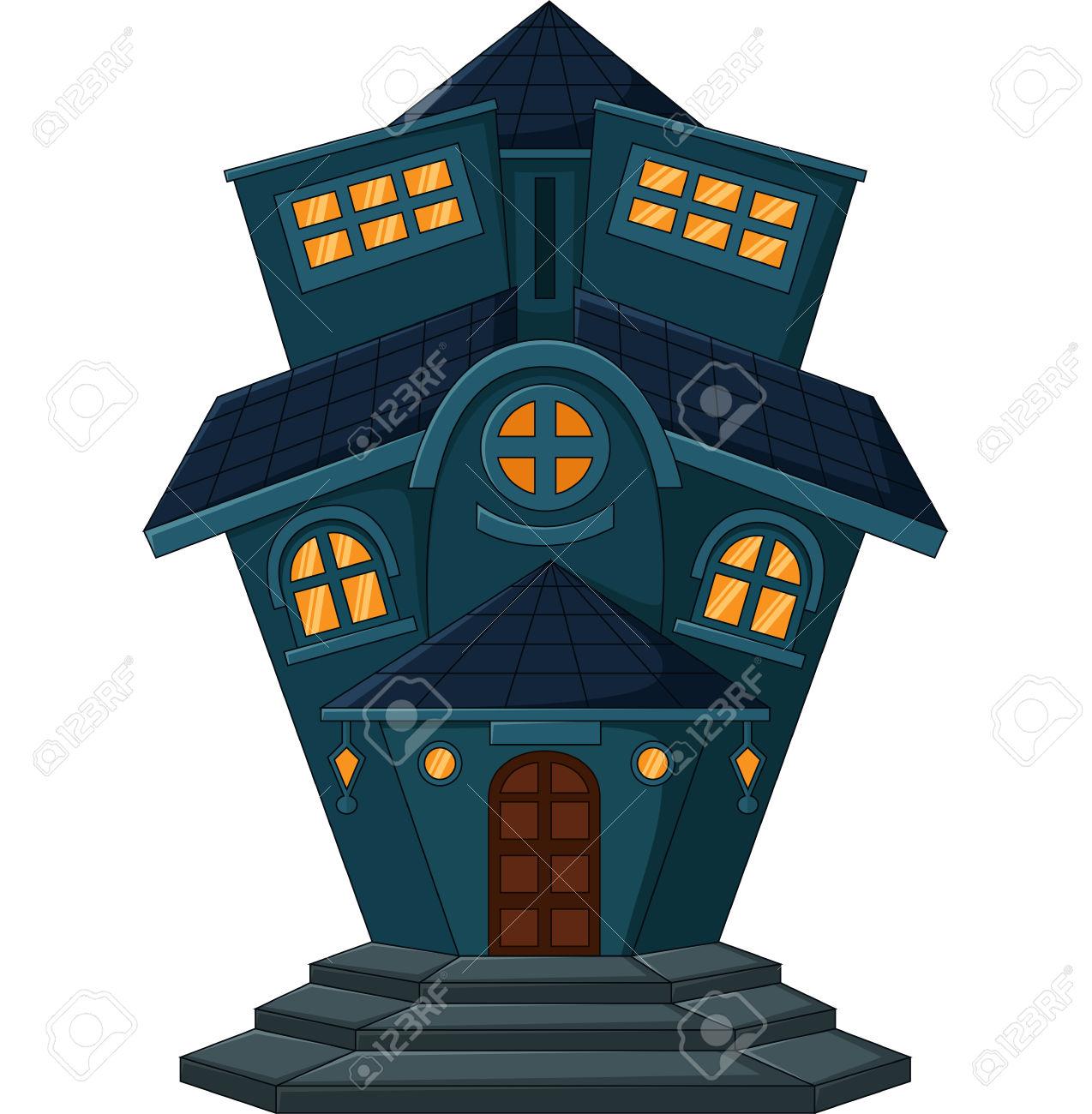 De Dibujos Animados Casa Vieja Ilustraciones Vectoriales, Clip Art.