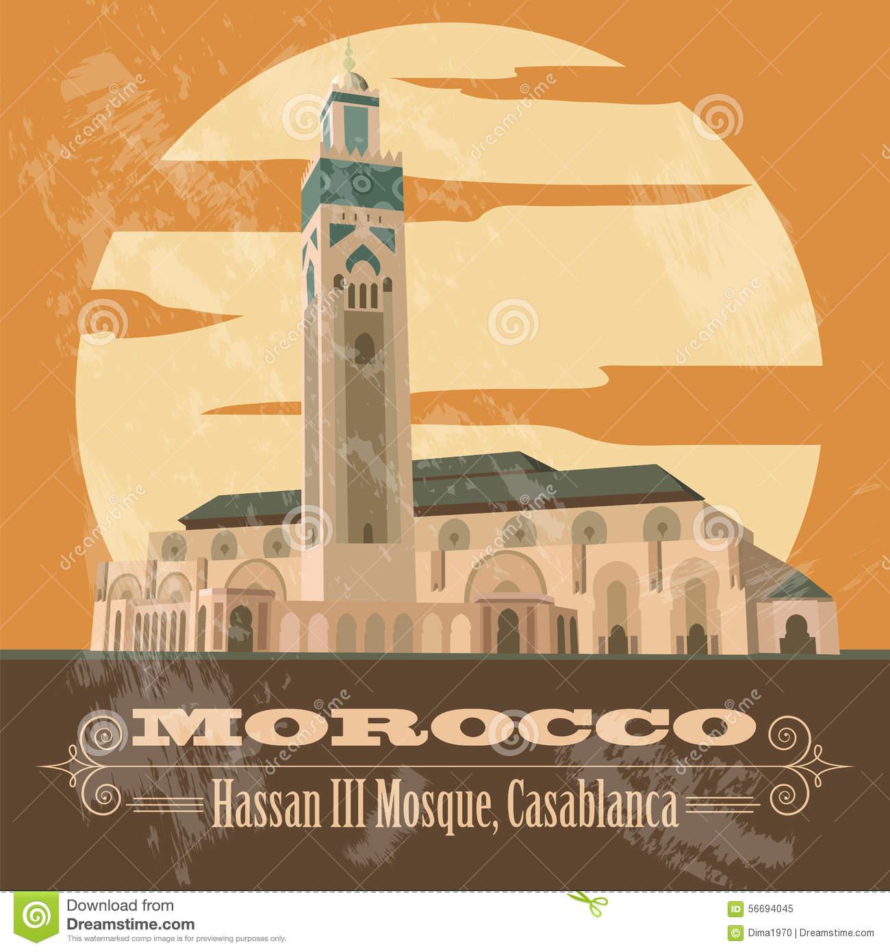 Casablanca Stock Illustrations.