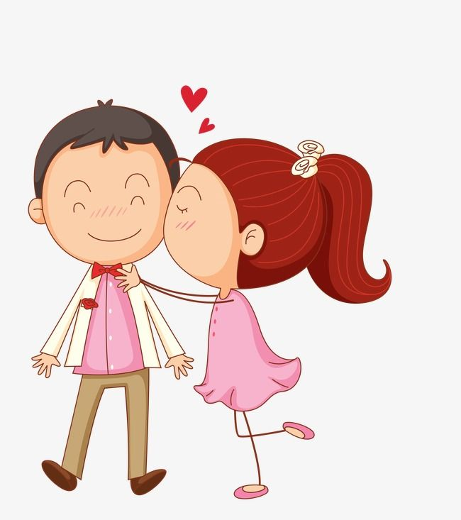 Cartoon Couple, Cartoon, Couple, Cartoon PNG and Vector with.