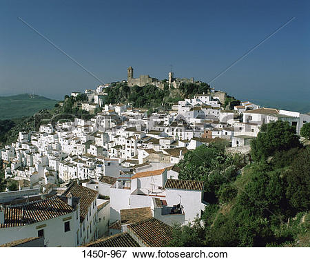 Picture of Casares, Spain 1450r.