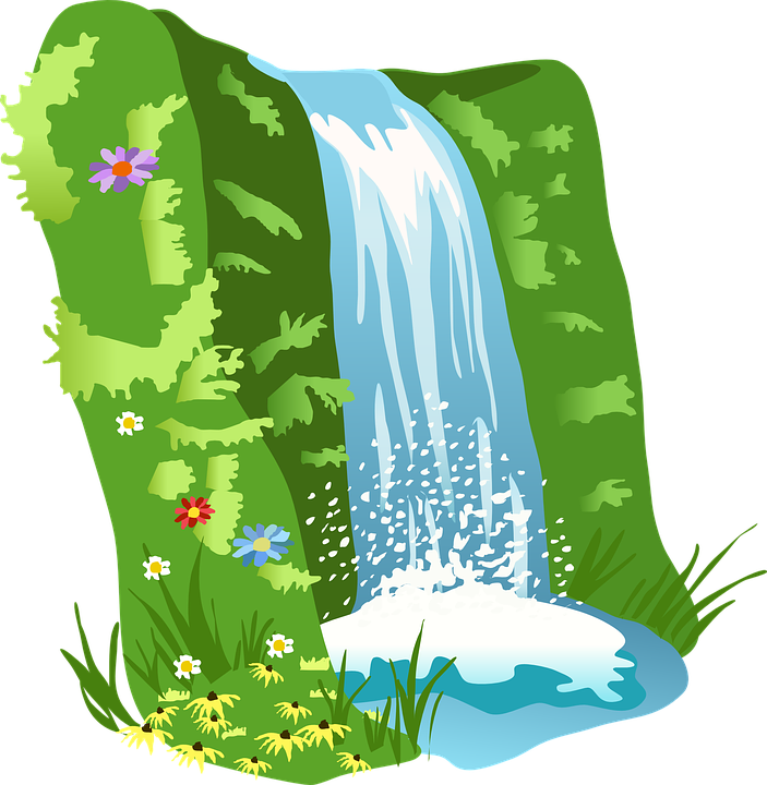 Overcast Logo: Water Nature Clipart