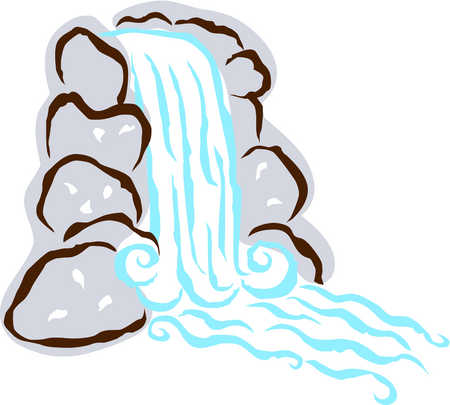 Clipart Waterfalls.