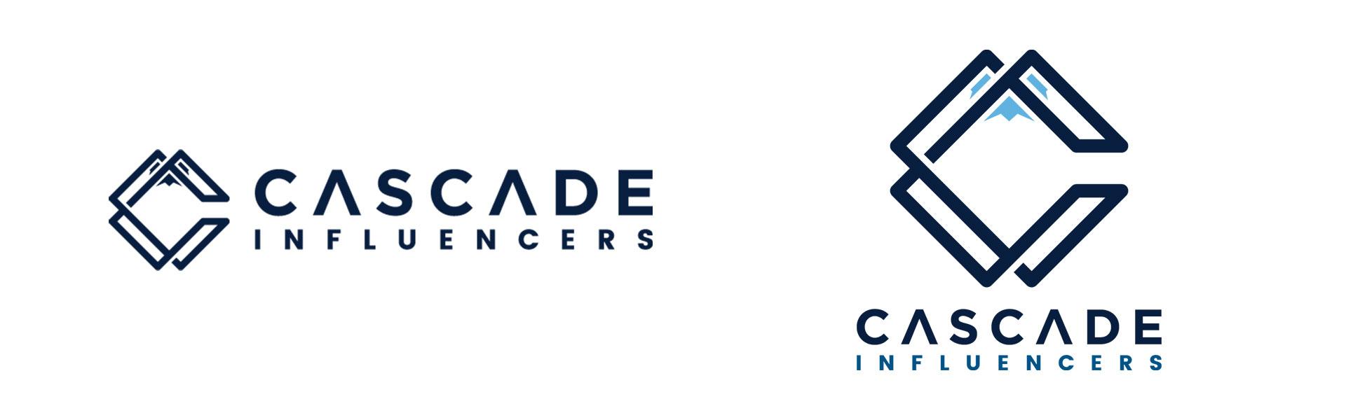 Cascade Influencers Logo Design.
