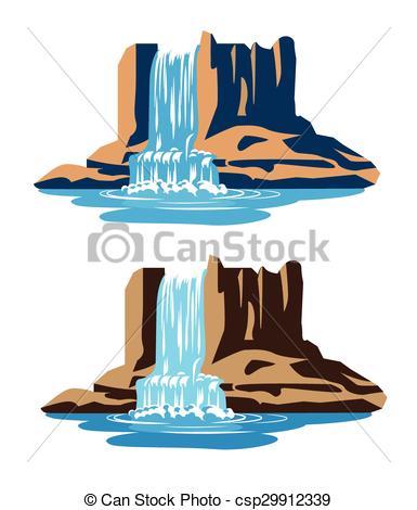 Vettori di cascate.