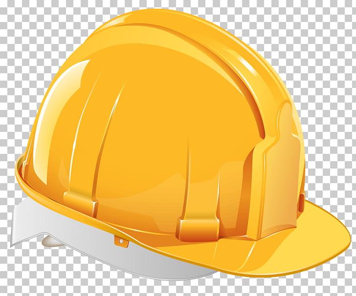 Ilustración de casco amarillo, gorra de casco, casco PNG.