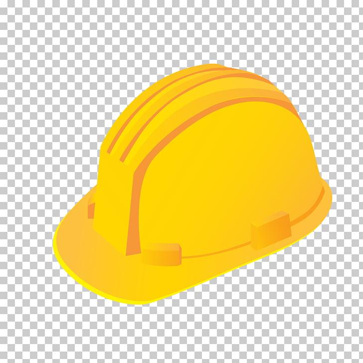 Casco amarillo casco, casco amarillo PNG Clipart.