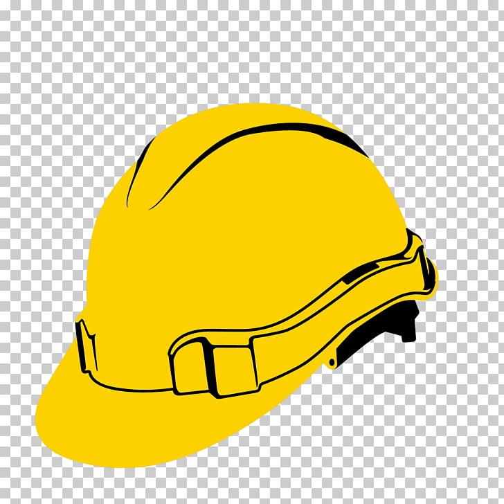 Casco de bicicleta, casco amarillo PNG Clipart.