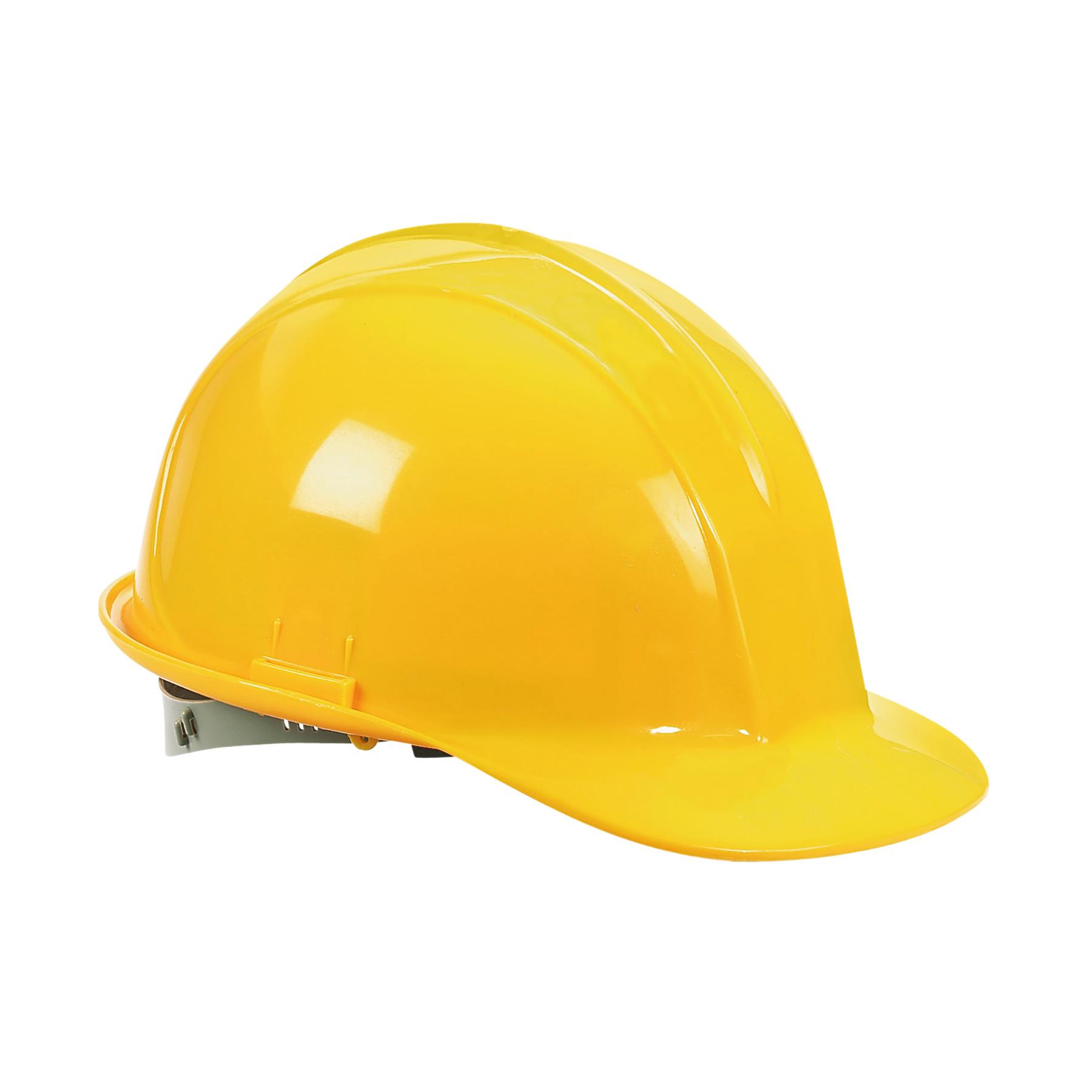 Casco de seguridad estándar, amarillo.