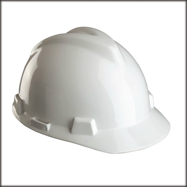 Casco de Seguridad Blanco.