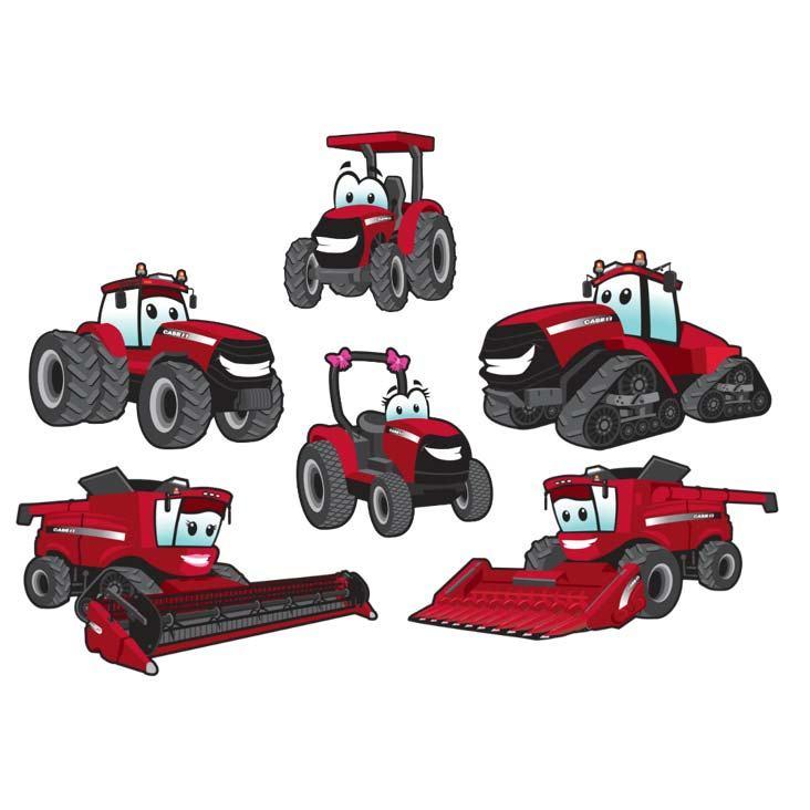 Case ih tractor clipart 2 » Clipart Portal.