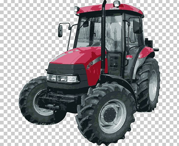 Case IH Farmall International Harvester Tractor Case Corporation PNG.