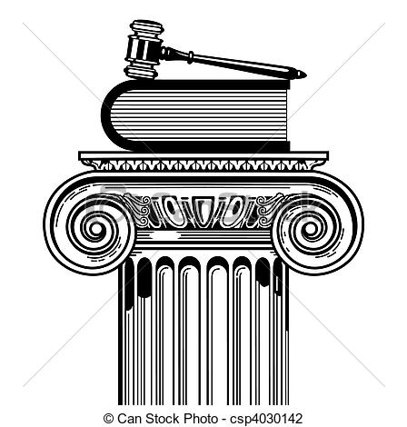 Vector Illustration of prevailing case law csp4030142.