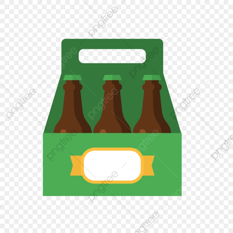 A Case Of Beer, Beer Vector, Beer, Vector PNG and Vector with.