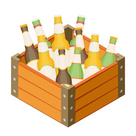 121 Four Beer Bottles Stock Vector Illustration And Royalty Free.