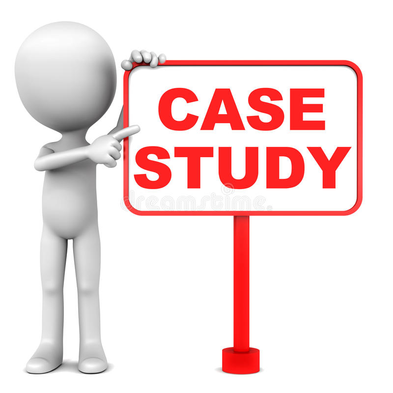 Case Study Stock Illustrations.
