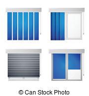 Casement window Vector Clip Art EPS Images. 392 Casement window.