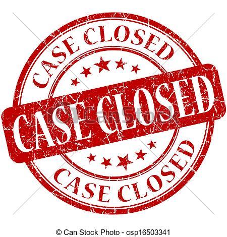 Case Closed Clipart.
