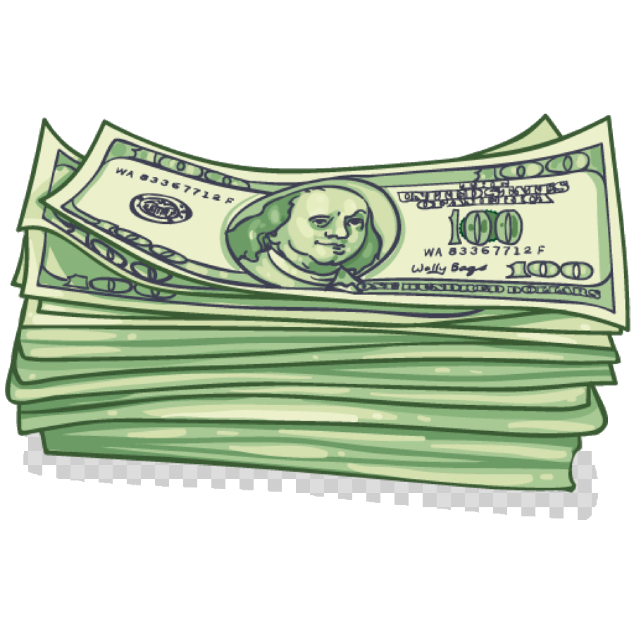 Cash Money Green Transparent Image Clipart Free Png.