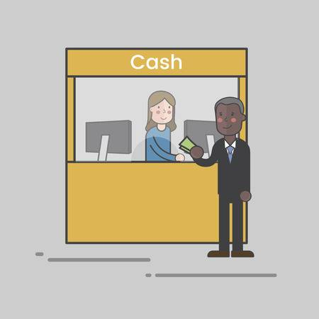 4,151 Cash Counter Stock Illustrations, Cliparts And Royalty Free.