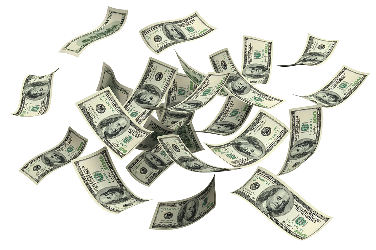 Money Flying Png (105+ images in Collection) Page 3.