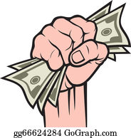 Money In The Hand Clip Art.