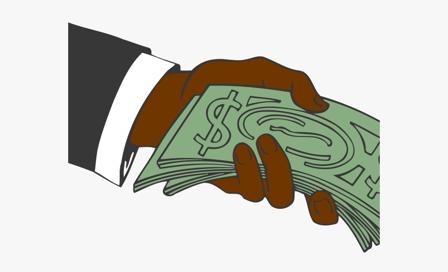 Money In Hand Clipart , Transparent Cartoon, Free Cliparts.