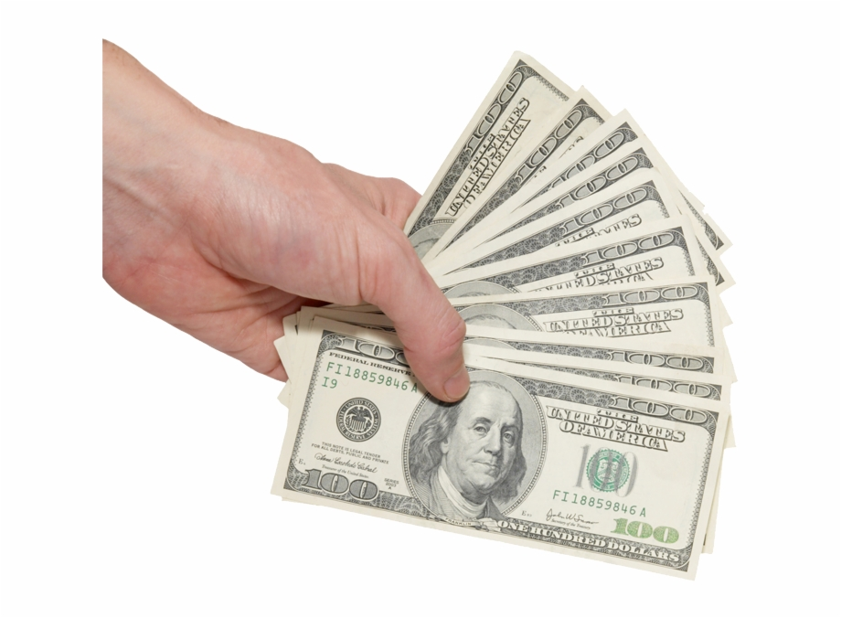 Hand With Money Png, Transparent Png Download For Free #396947.