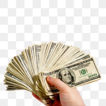 Cash PNG Images.