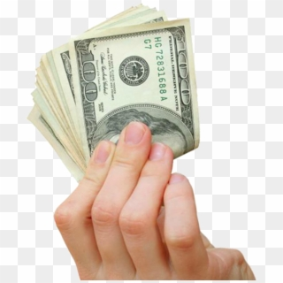 Transparent Wad Of Dollars Png Picture.