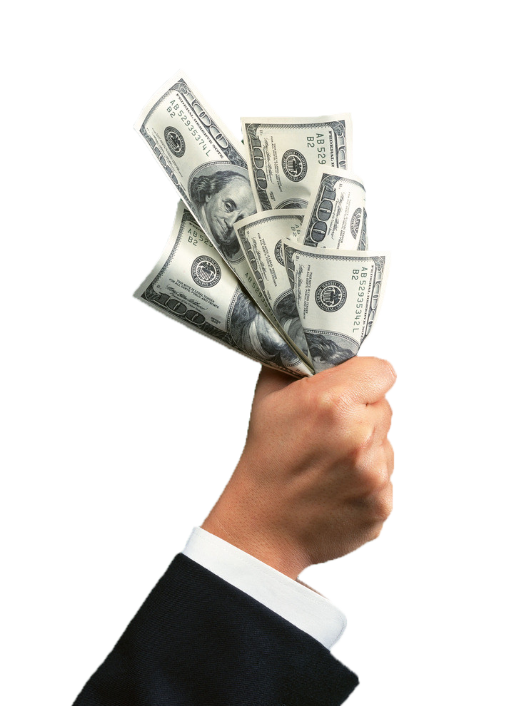 Credit Money Hand Cash.