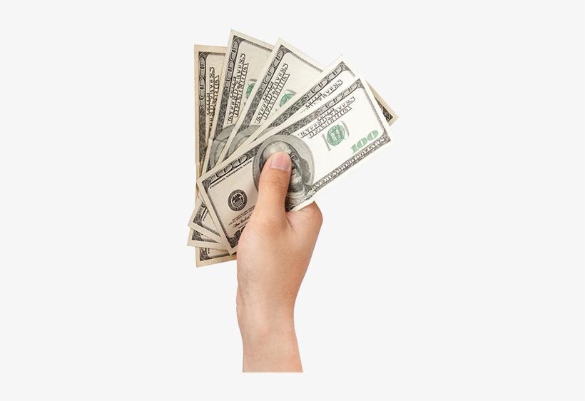 Money In Hand Png.
