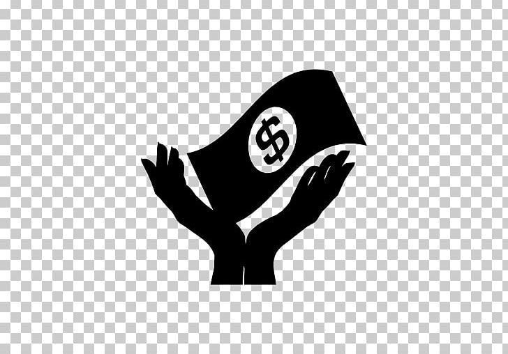 Computer Icons Money Cash Logo Hand PNG, Clipart, Black.