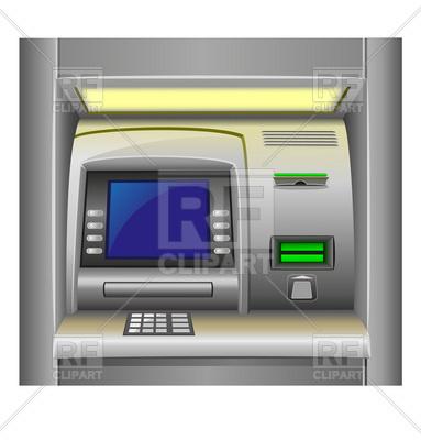 Cash dispenser (ATM) interface.