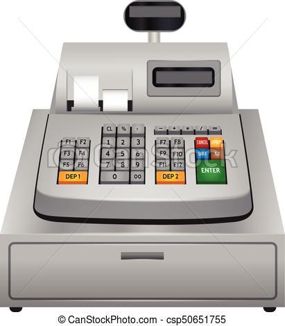 Cash machine icon, realistic style.