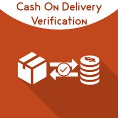 Cash On Delivery Verification.