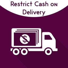 Restrict Cash On Delivery.