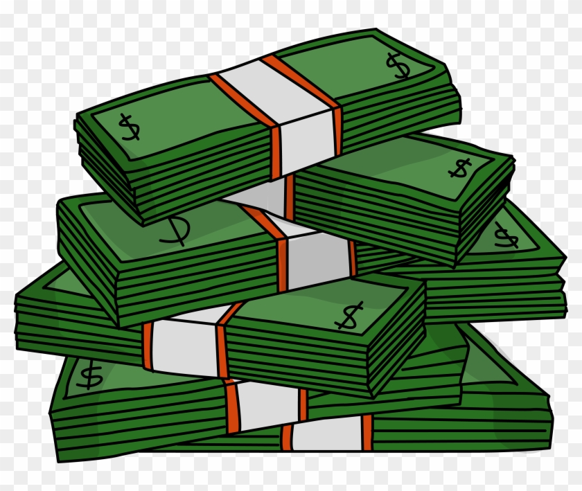 Stacks Of Cash Clipart.